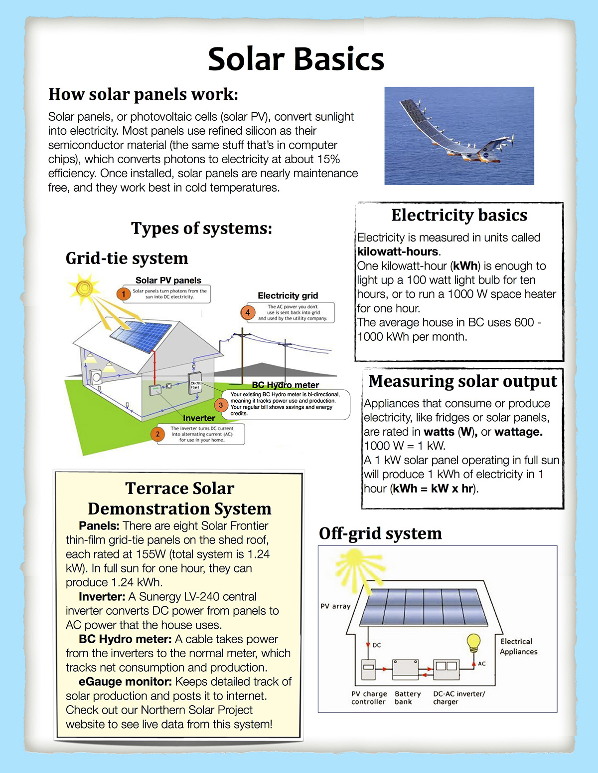 Northern Solar Project - Projects - Skeena Energy Solutions